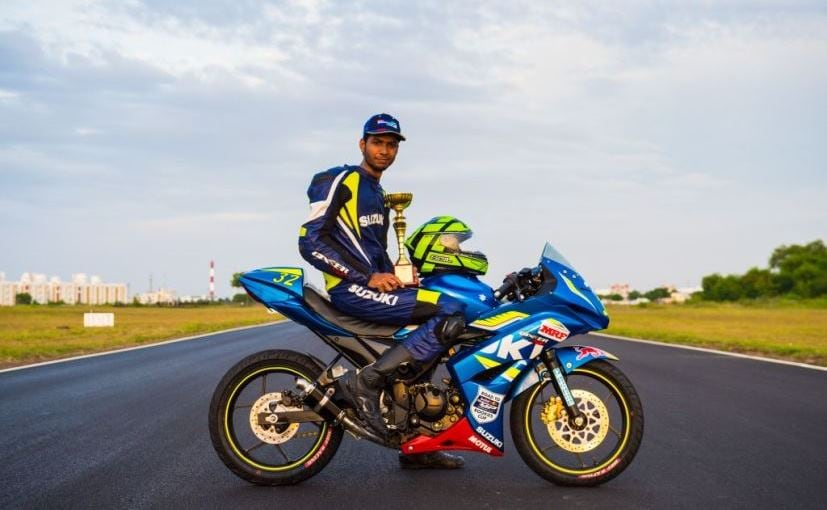 Sachin Choudhary Becomes First Indian Rider To Participate In Red Bull Rookies Cup