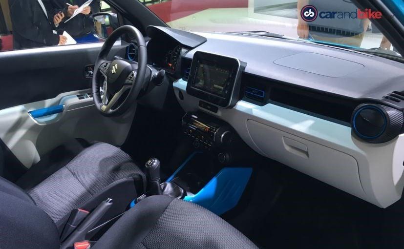 Suzuki Ignis Cabin at Paris Motor Show 2016
