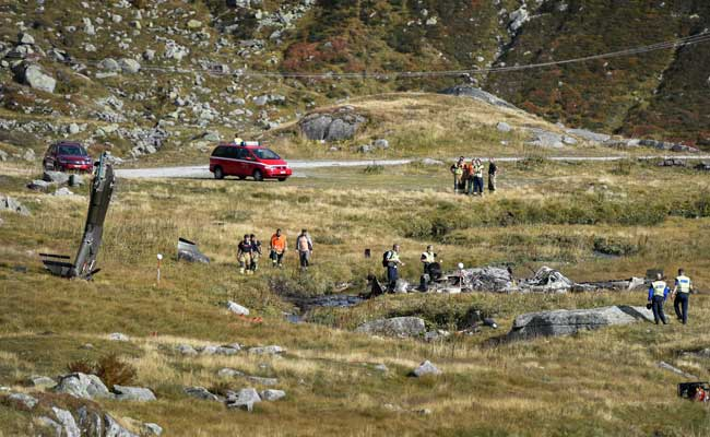 At Least 2 Killed In Swiss Army Helicopter Crash