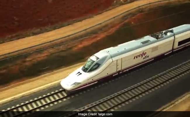 Super-Fast Talgo Train From Delhi To Mumbai Has Final Trial Today