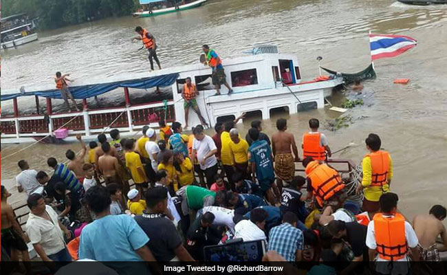 12 Dead In Thailand As Tourist Boat Capsizes, Dozens Missing