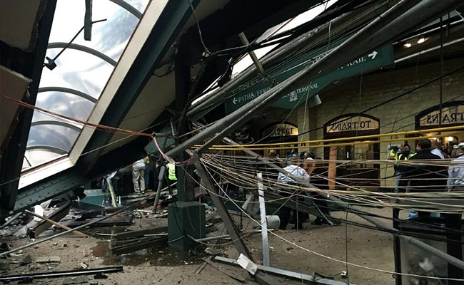 Wreckage Blocks Access To Second Data Recorder In New Jersey train Crash