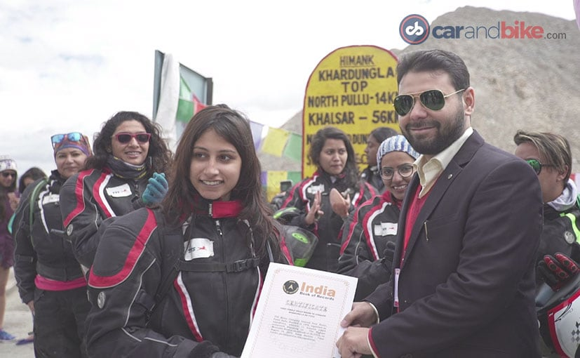TVS Himalayan High Has Entered India Book of Records