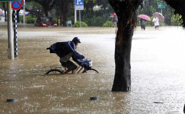 चीन में 'मेगी' तूफान से मचाई तबाही   10 व्यक्तियों की मौत, 29 लापता
