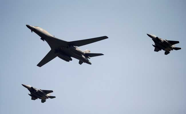 US Bombers, Fighters, Stage Show Of Force Off North Korean Coast