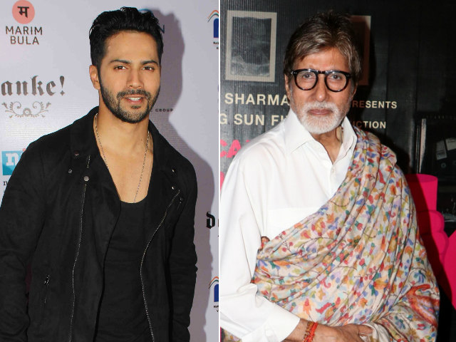 Varun Dhawan is Not Amitabh Bachchan's Co-Star. Not Yet