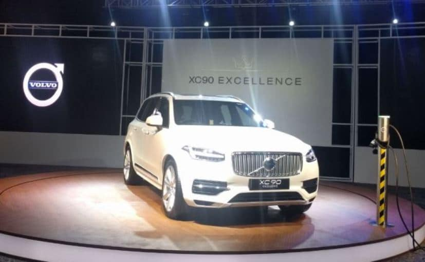Volvo XC90 T8 Excellence Plug-In Hybrid Launched In India At ₹ 1.25 Crore