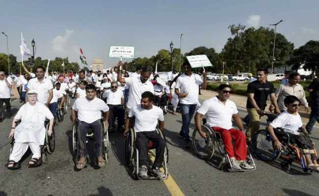 Wheelchair, Bike Rally To Raise Awareness On Spinal Injuries In Delhi