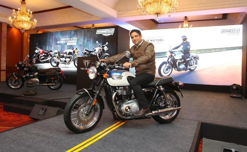 Triumph Launches Bonneville T100 At &#8377 7.78 Lakh