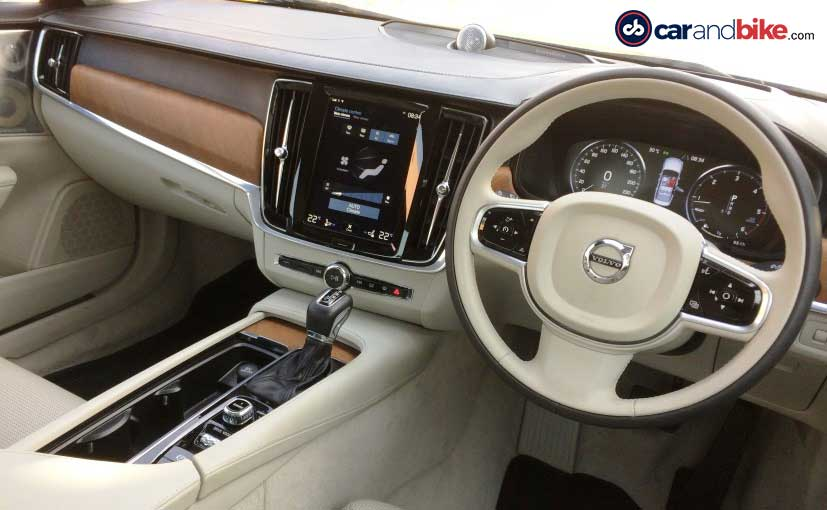 2016 Volvo S90 Dashboard