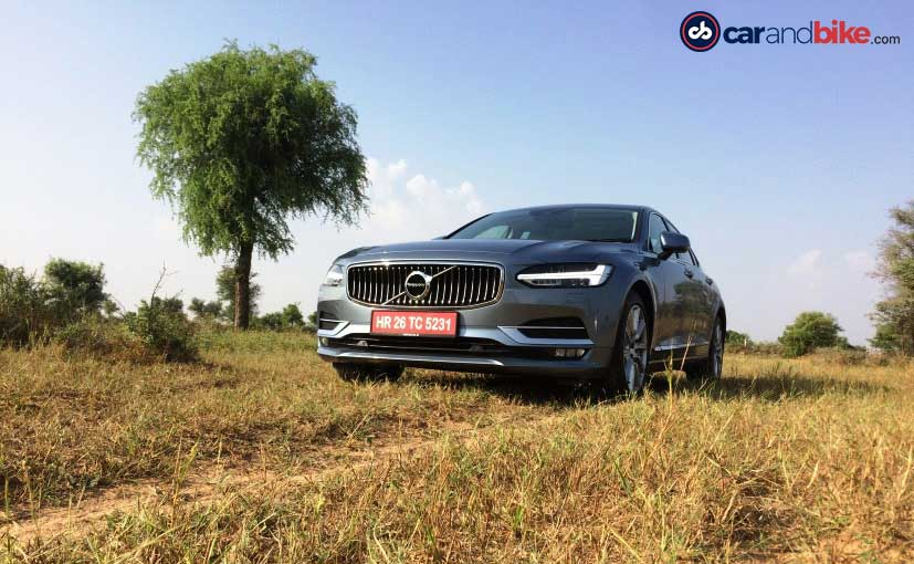 2016 Volvo S90 Front