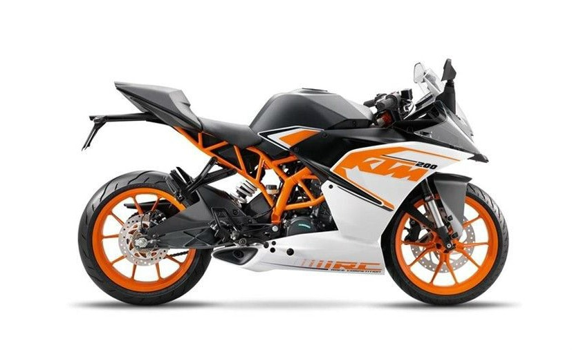 Ktm Rc 390 Rc 200 And Rc 125 Get New Livery For 2017