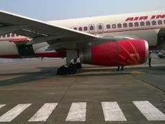 Baggage Tow Tractor Rams Into Parked Air India Plane At Delhi Airport