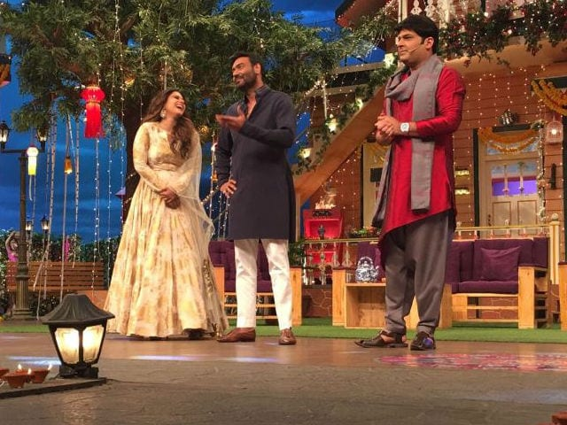 Ajay Devgn's Prank on The Kapil Sharma Show is Trending