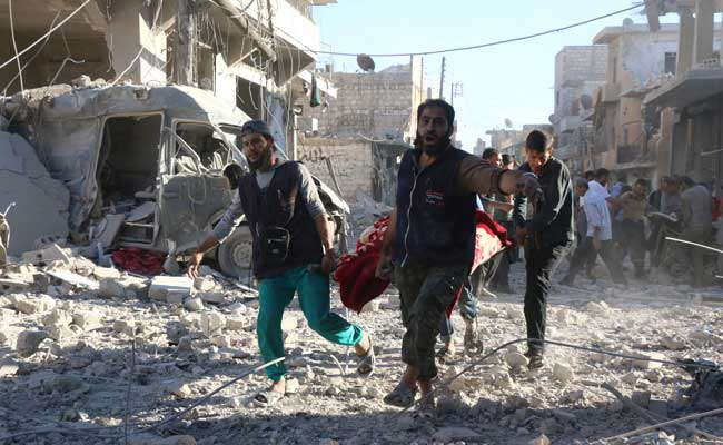 'Bombs Are Raining', Aleppo Worst Hit As Russia-Backed Offensive Intensifies