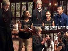 अमिताभ से मिलीं, जिम्नास्ट दीपा कर्मकार, बिगबी ने पूछा- ओलिंपिक में भारतीय जज क्यों नहीं होते!