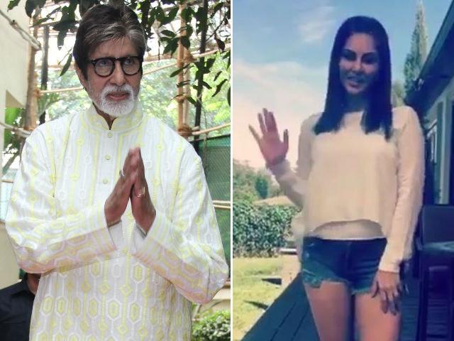Amitabh Bachchan Turns 74. Sunny Leone, Baba Sehgal #RapForAB