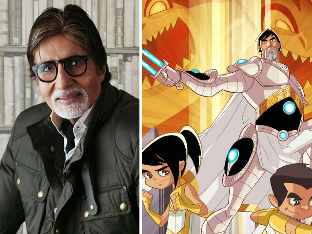 Big B Launches Superhero Series Featuring Him As Animated Hero On Birthday