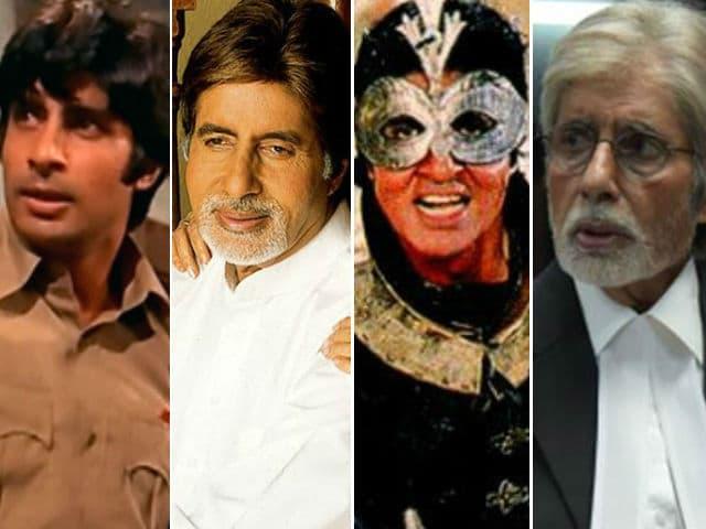 Amitabh Bachchan@74: Deconstructing The Megastar by Decade