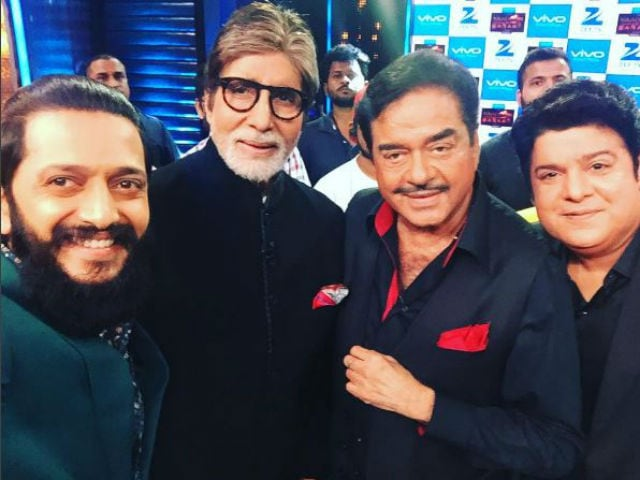 Big B, Shatrughan Sinha Reunite For 'Fanboy' Riteish Deshmukh's TV Show