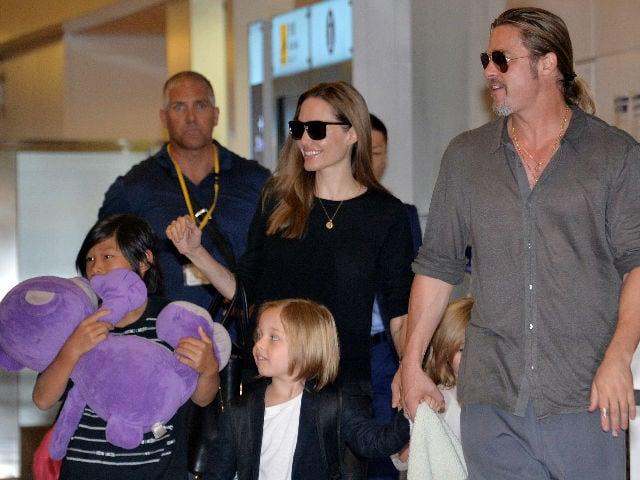 Angelina Jolie, Brad Pitt Reach Temporary Agreement Over Kids' Custody