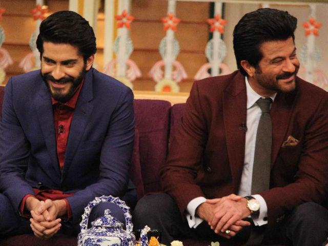 Anil Kapoor Helps Son Harshvardhan Promote Mirzya