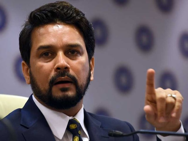 Undue Importance Being Given To PCBs Claim Against BCCI: Anurag Thakur