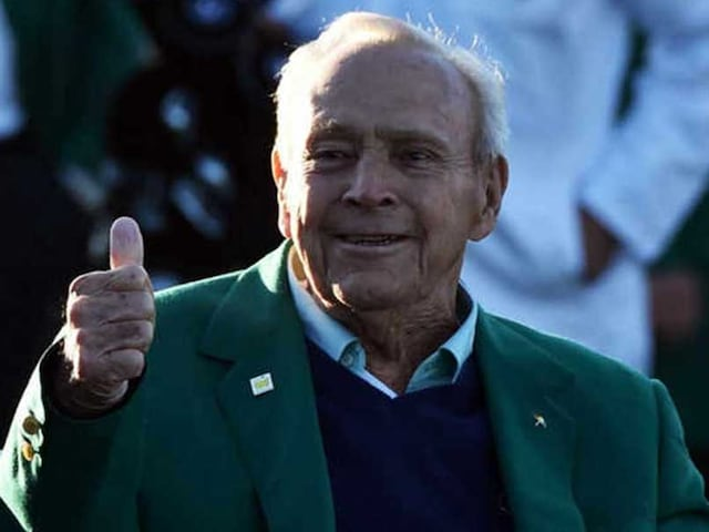 Arnold Palmer Watching Over US Team In Ryder Cup Triumph