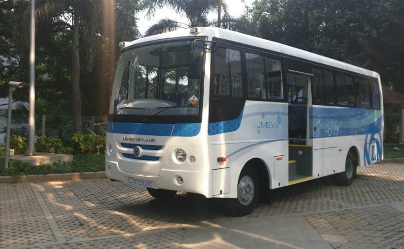 India's First All Electric Bus - Ashok Leyland Circuit Series Launched