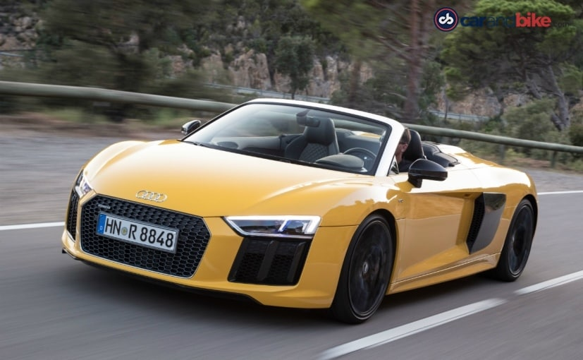 Audi R8 Spyder rolls out in Germany and the USA by the end of this year