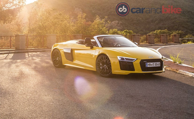 Along Came A Spyder: The Audi R8 Spyder Review