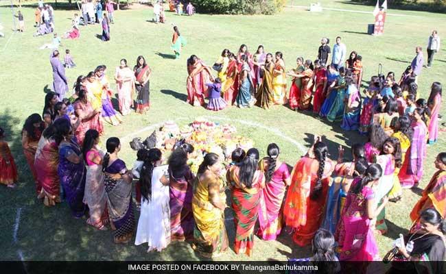 bathukamma event enters guinness book of world records
