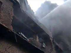 तस्वीरें : भोपाल में स्क्रैपयार्ड में लगी भीषण आग, फिलहाल आग लगने की वजह साफ नहीं