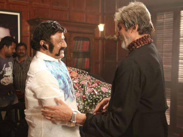 When Amitabh 'Big B' Bachchan Met Nandamuri 'Balayya' Balakrishna On Sarkar 3