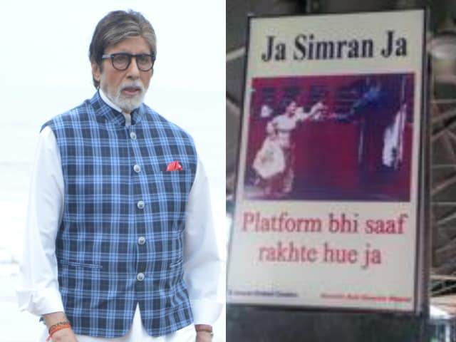 Swachhta Diwas: Amitabh Bachchan Shared Film Posters, Each With A Message