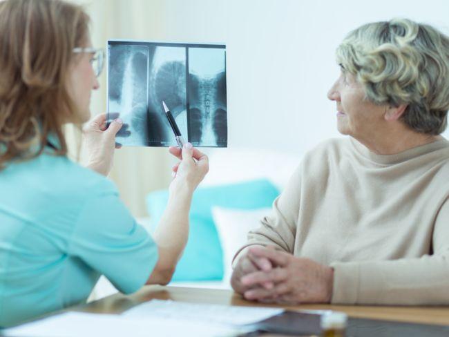 It's important to examine the bones of the elderly people