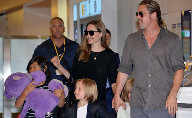 'Brangelina' Reach Stop-Gap Deal Over Kids