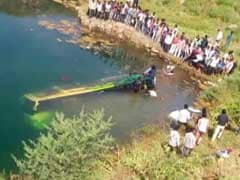 13 Killed, 17 Others Injured As Bus Falls In Water Pit In Madhya Pradesh's Ratlam