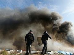 'Jungle' Migrant Camp Ablaze As Demolition Ramps Up