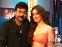 Chiranjeevi And Laxmi Rai Shoot a Special Song For <i>Khaidi No 150</i>