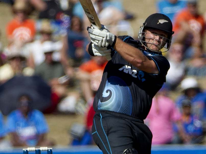 Corey Anderson Aims to Bat India Out as New Zealand Seek Redemption