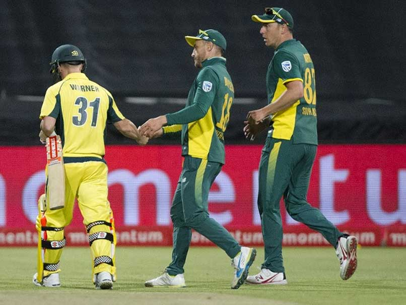 South Africa Sweep Australia Despite David Warner Heroics