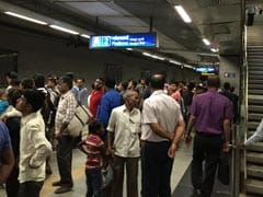 Panic After Monkey Sneaks Into Delhi Metro Station
