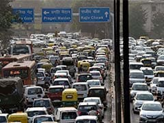 Massive Traffic Jams In Delhi Due To JNU Protest, Dhanteras Shoppers