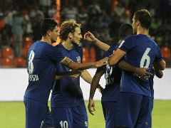 ISL Diego Forlan-Less Mumbai City FC Take on Atletico De Kolkata in Semi-Final