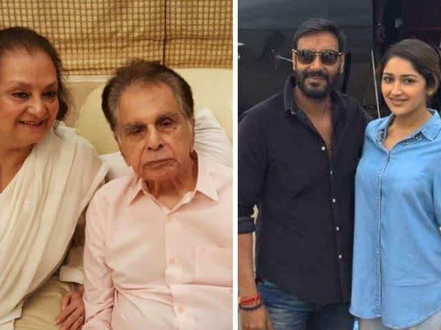 Dilip Kumar Excited For Grandniece Sayyeshaa's Debut In Shivaay