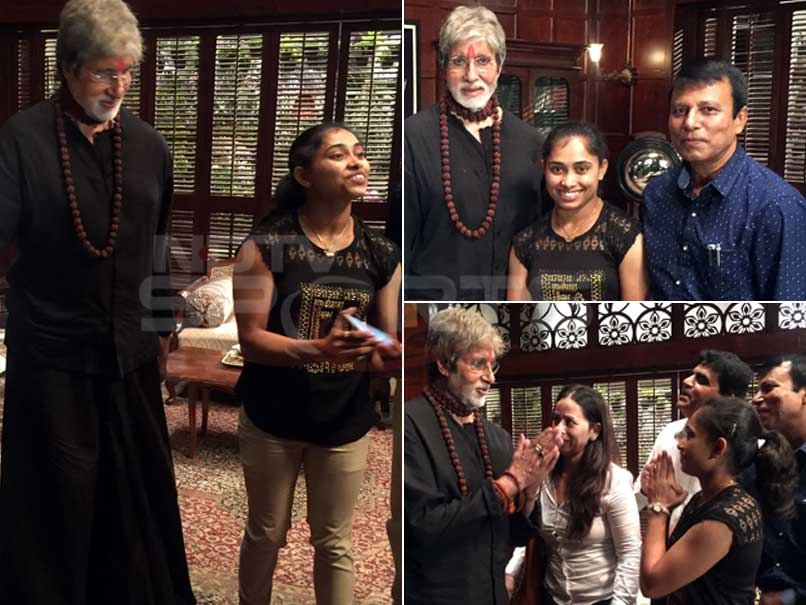 Gymnast Dipa Karmakar's Fan-Girl Moment With Amitabh Bachchan