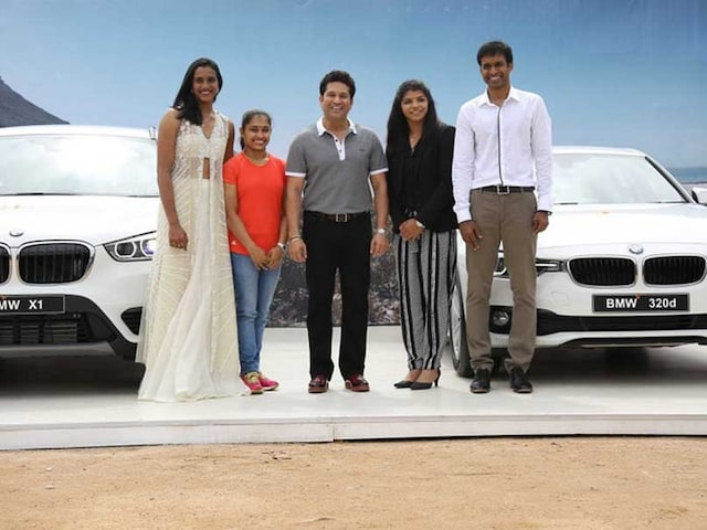 Dipa Karmakar Wants to Replace BMW Presented by Sachin Tendulkar