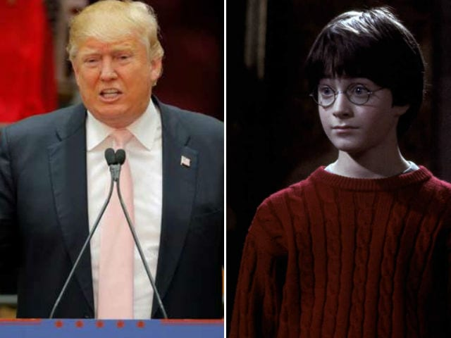Donald Trump to Daniel Radcliffe on How Not to Be Nervous: Talk About Me