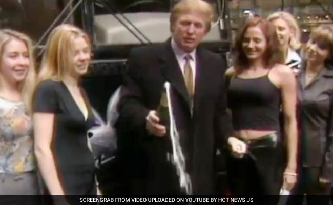 After Donald Trump's 'Sex Tape' Twitter Tirade, A Playboy Video Starring Him